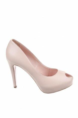 Γυναικεία παπούτσια, Μέγεθος 40, Χρώμα  Μπέζ, Γνήσιο δέρμα, Τιμή 22,02€