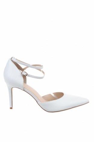 Дамски обувки Anna Field, Размер 42, Цвят Бял, Естествена кожа, еко кожа, Цена 72,00лв.