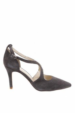 Дамски обувки Anna Field, Размер 42, Цвят Сив, Естествен велур, Цена 31,68лв.
