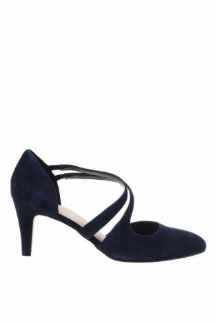 Дамски обувки Anna Field, Размер 41, Цвят Син, Естествен велур, Цена 89,25лв.