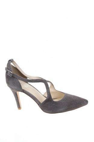 Дамски обувки Anna Field, Размер 39, Цвят Сив, Естествен велур, Цена 32,70лв.