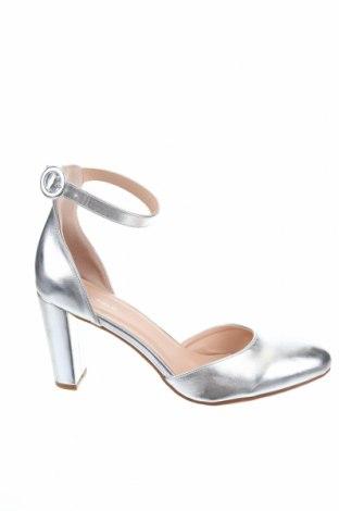 Дамски обувки Anna Field, Размер 41, Цвят Сребрист, Еко кожа, Цена 28,60лв.