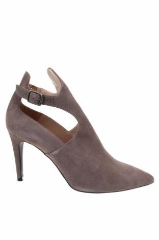 Дамски обувки Brenda Zaro, Размер 42, Цвят Кафяв, Естествен велур, Цена 89,25лв.