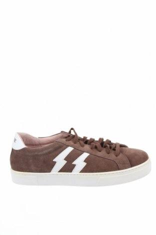 Дамски обувки Brownie, Размер 41, Цвят Кафяв, Естествен велур, Цена 54,97лв.