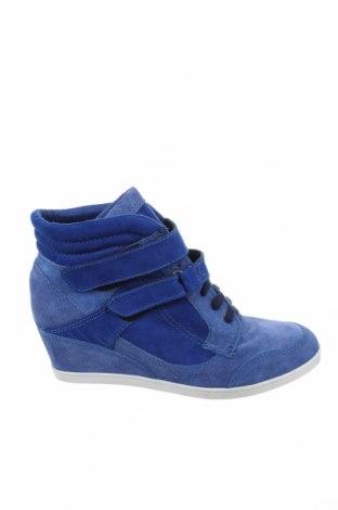 Γυναικεία παπούτσια Bullboxer, Μέγεθος 40, Χρώμα Μπλέ, Φυσικό σουέτ, κλωστοϋφαντουργικά προϊόντα, Τιμή 47,21€