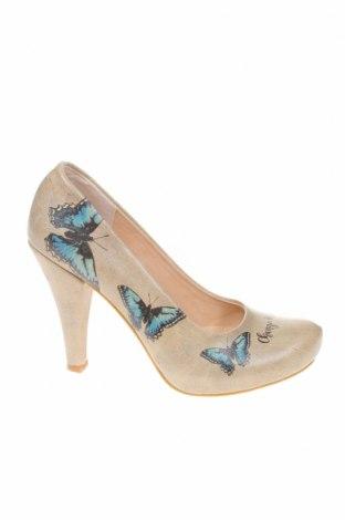 Γυναικεία παπούτσια Dogo, Μέγεθος 36, Χρώμα  Μπέζ, Δερματίνη, Τιμή 18,25€
