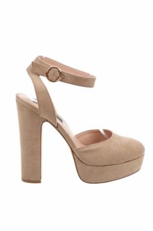 Дамски обувки Even&Odd, Размер 38, Цвят Бежов, Текстил, Цена 31,07лв.