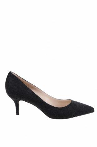Γυναικεία παπούτσια Evita, Μέγεθος 37, Χρώμα Μαύρο, Κλωστοϋφαντουργικά προϊόντα, Τιμή 15,80€