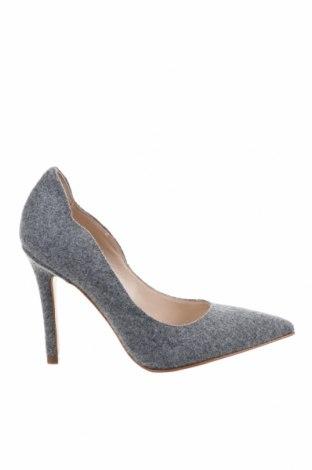 Дамски обувки Evita, Размер 33, Цвят Сив, Текстил, Цена 119,25лв.