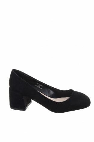 Дамски обувки Faith, Размер 36, Цвят Черен, Текстил, Цена 59,25лв.