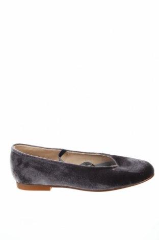 Дамски обувки Foque, Размер 37, Цвят Сив, Текстил, Цена 29,12лв.