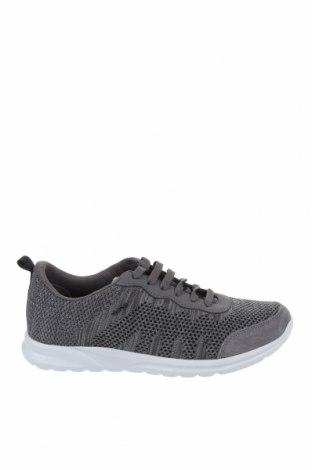 Дамски обувки Geox, Размер 40, Цвят Сив, Текстил, Цена 111,75лв.