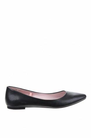 Дамски обувки H&M, Размер 37, Цвят Черен, Еко кожа, Цена 28,42лв.
