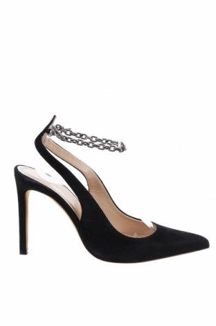 Дамски обувки Iro, Размер 37, Цвят Черен, Естествен велур, Цена 539,25лв.