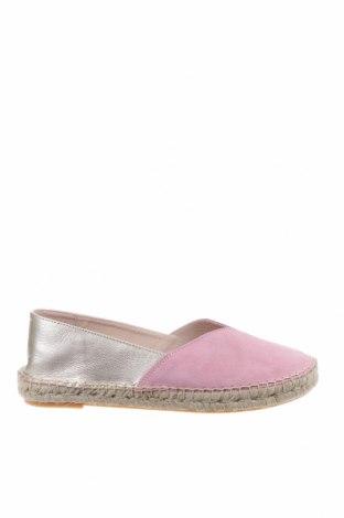 Дамски обувки Kiomi, Размер 41, Цвят Розов, Естествен велур, естествена кожа, Цена 71,40лв.