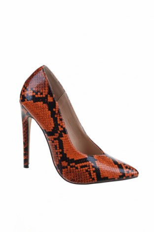 Дамски обувки Lost Ink, Размер 38, Цвят Оранжев, Еко кожа, Цена 26,86лв.