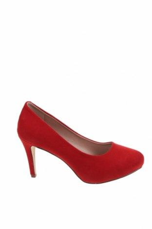 Дамски обувки Madden Girl, Размер 36, Цвят Червен, Текстил, Цена 29,75лв.