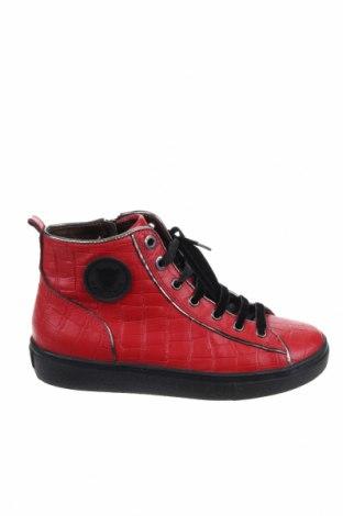 Γυναικεία παπούτσια Marc Cain, Μέγεθος 36, Χρώμα Κόκκινο, Γνήσιο δέρμα, Τιμή 51,80€