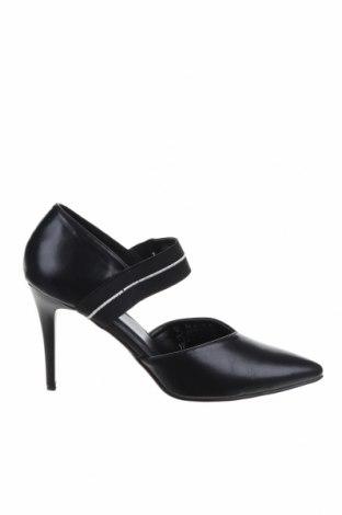 Γυναικεία παπούτσια Na-Kd, Μέγεθος 40, Χρώμα Μαύρο, Δερματίνη, Τιμή 17,92€