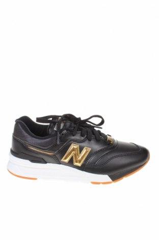Női cipők New Balance, Méret 37, Szín Fekete, Valódi bőr, textil, Ár 12844 Ft