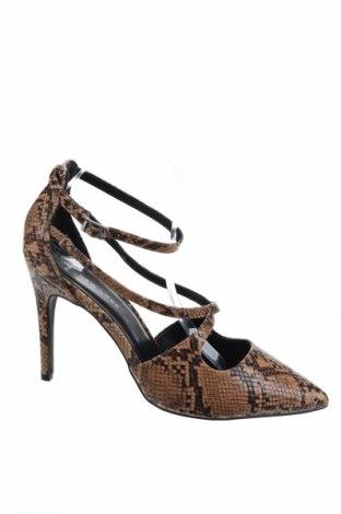 Дамски обувки New Look, Размер 41, Цвят Кафяв, Текстил, Цена 29,50лв.