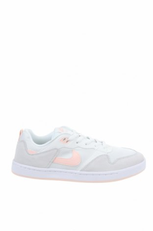 Дамски обувки Nike, Размер 43, Цвят Бежов, Естествен велур, текстил, Цена 89,50лв.