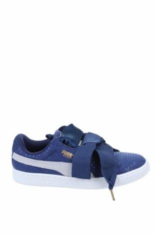 Дамски обувки PUMA, Размер 38, Цвят Син, Текстил, естествен велур, Цена 126,75лв.