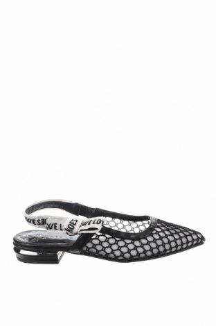 Дамски обувки Pedro Miralles, Размер 36, Цвят Черен, Текстил, естествена кожа, Цена 126,75лв.