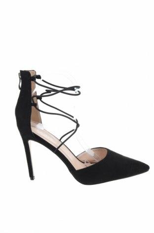 Дамски обувки Public Desire, Размер 40, Цвят Черен, Текстил, Цена 34,56лв.