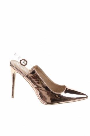 Дамски обувки Raid, Размер 41, Цвят Златист, Еко кожа, Цена 34,50лв.