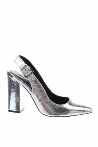 Γυναικεία παπούτσια River Island, Μέγεθος 40, Χρώμα Ασημί, Δερματίνη, Τιμή 19,79€