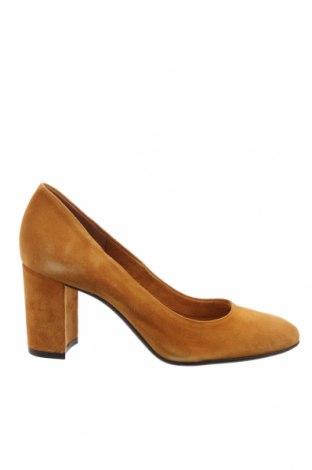 Dámské boty  San Marina, Velikost 36, Barva Žlutá, Přírodní velur , Cena  863,00Kč