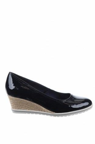 Дамски обувки Tamaris, Размер 41, Цвят Син, Еко кожа, Цена 47,40лв.