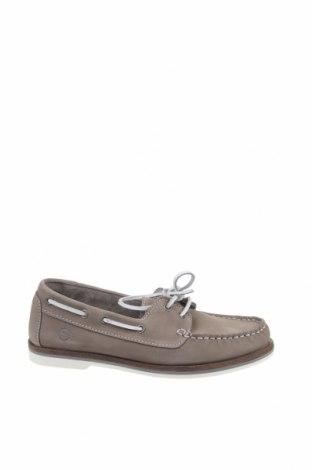 Дамски обувки Tamaris, Размер 36, Цвят Сив, Естествена кожа, Цена 89,25лв.