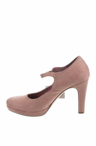 Дамски обувки Tamaris, Размер 40, Цвят Розов, Текстил, Цена 36,34лв.