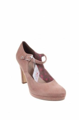 Дамски обувки Tamaris, Размер 38, Цвят Розов, Текстил, Цена 30,02лв.