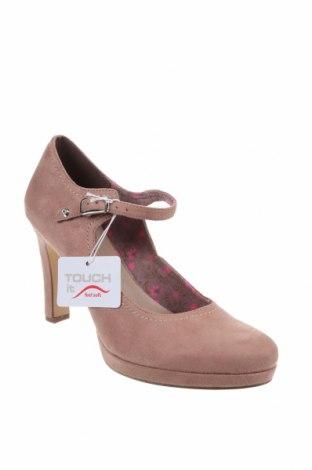 Дамски обувки Tamaris, Размер 42, Цвят Розов, Текстил, Цена 30,02лв.
