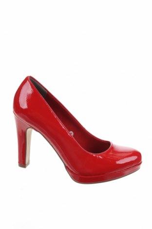 Дамски обувки Tamaris, Размер 35, Цвят Червен, Еко кожа, Цена 27,65лв.