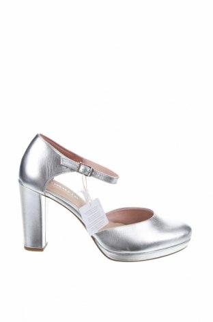 Дамски обувки Tamaris, Размер 41, Цвят Сребрист, Еко кожа, Цена 37,95лв.