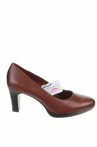 Дамски обувки Tamaris, Размер 42, Цвят Кафяв, Естествена кожа, Цена 63,07лв.