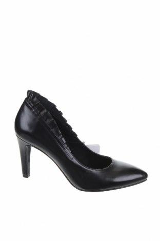 Γυναικεία παπούτσια Tamaris, Μέγεθος 40, Χρώμα Μαύρο, Γνήσιο δέρμα, Τιμή 44,78€