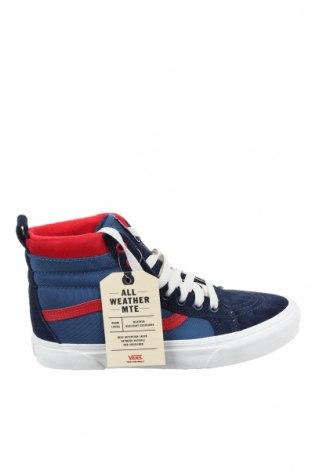 Дамски обувки Vans, Размер 38, Цвят Син, Естествен велур, текстил, Цена 77,40лв.