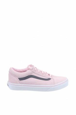 Дамски обувки Vans, Размер 36, Цвят Розов, Естествен велур, Цена 77,40лв.