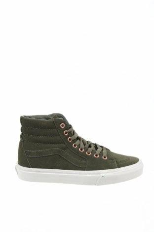 Dámské boty  Vans, Velikost 39, Barva Zelená, Přírodní velur , Cena  1196,00Kč