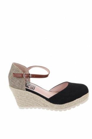 Дамски обувки Xti, Размер 36, Цвят Черен, Текстил, Цена 38,35лв.