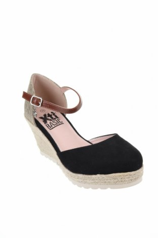 Дамски обувки Xti, Размер 36, Цвят Черен, Текстил, Цена 38,76лв.
