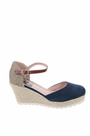 Дамски обувки Xti, Размер 37, Цвят Син, Текстил, Цена 44,25лв.