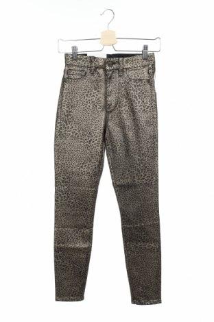 Γυναικείο παντελόνι 7 For All Mankind, Μέγεθος XS, Χρώμα Πολύχρωμο, 45% βαμβάκι, 22% lyocell, 21% πολυεστέρας, 10% βισκόζη, 2% ελαστάνη, Τιμή 18,85€