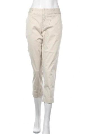 Γυναικείο παντελόνι Banana Republic, Μέγεθος L, Χρώμα  Μπέζ, 98% βαμβάκι, 2% ελαστάνη, Τιμή 24,29€
