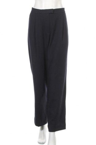 Дамски панталон COS, Размер XL, Цвят Син, 60% полиестер, 36% вискоза, 4% еластан, Цена 35,28лв.